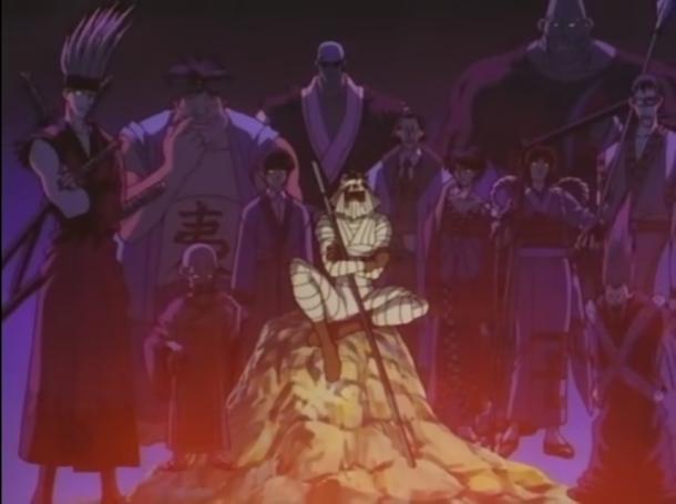 Shishio Makoto and his Juppongatana